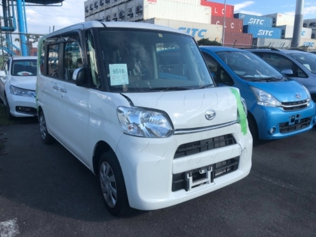 Import and buy DAIHATSU TANTO 2017 from Japan to Nairobi, Kenya