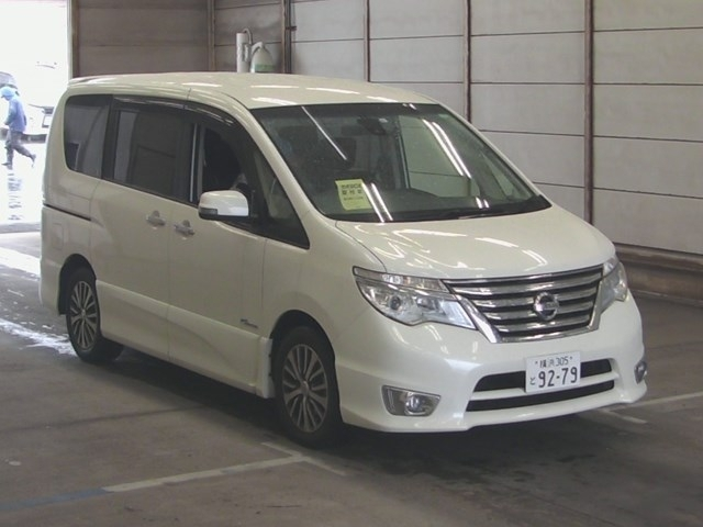Import and buy NISSAN SERENA 2015 from Japan to Nairobi, Kenya