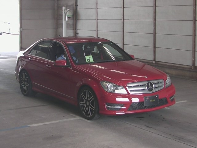 Import and buy MERCEDES BENZ C CLASS 2013 from Japan to Nairobi, Kenya