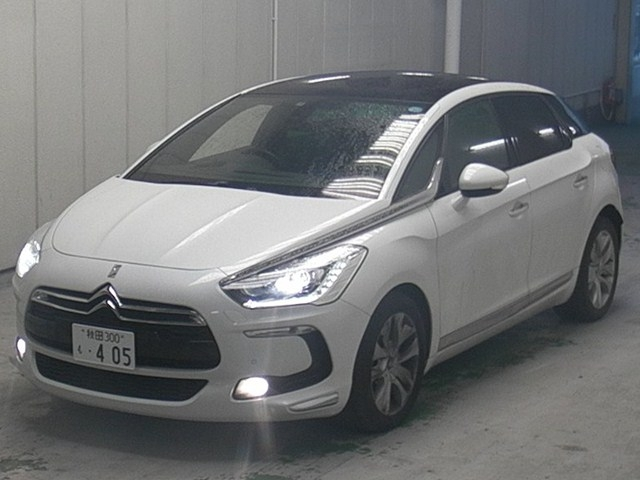 Import and buy CITROEN DS5 2013 from Japan to Nairobi, Kenya