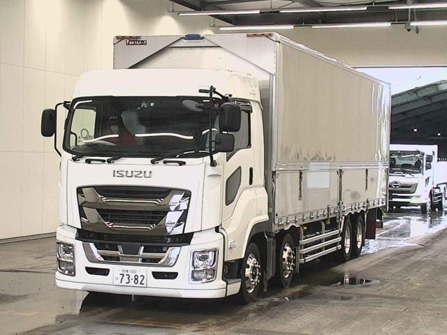 Import and buy ISUZU GIGA 2018 from Japan to Nairobi, Kenya