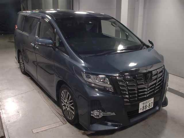 Import and buy TOYOTA ALPHARD 2016 from Japan to Nairobi, Kenya