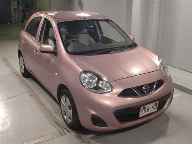Import and buy NISSAN MARCH 2013 from Japan to Nairobi, Kenya