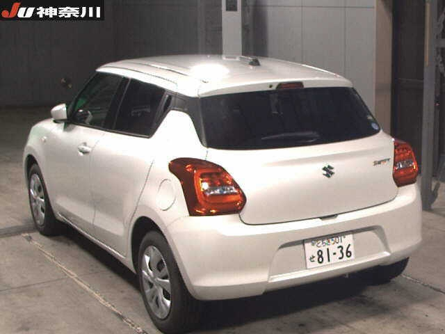 Import and buy SUZUKI SWIFT 2018 from Japan to Nairobi, Kenya