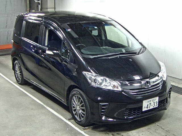 Import and buy HONDA FREED 2014 from Japan to Nairobi, Kenya