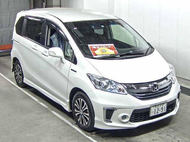 Import and buy HONDA FREED 2015 from Japan to Nairobi, Kenya