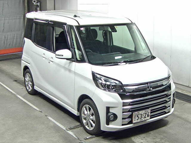 Import and buy MITSUBISHI EK SPACE 2017 from Japan to Nairobi, Kenya