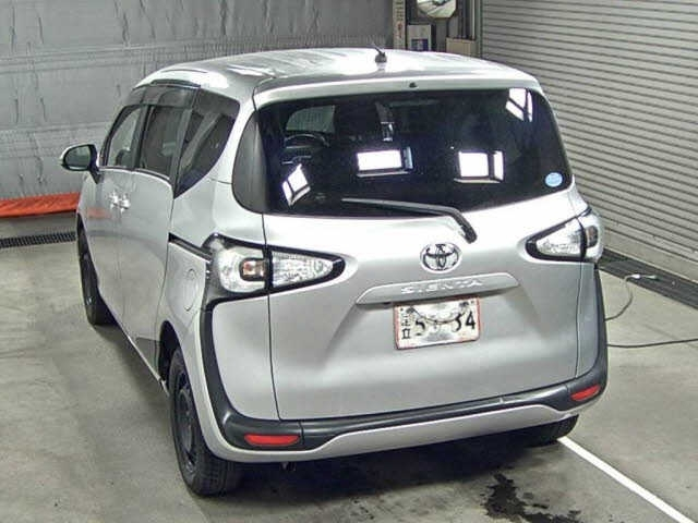 Import and buy TOYOTA SIENTA 2016 from Japan to Nairobi, Kenya
