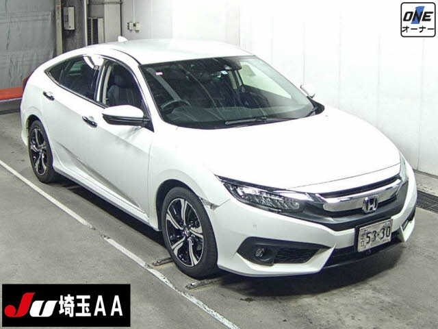 Import and buy HONDA CIVIC 2018 from Japan to Nairobi, Kenya