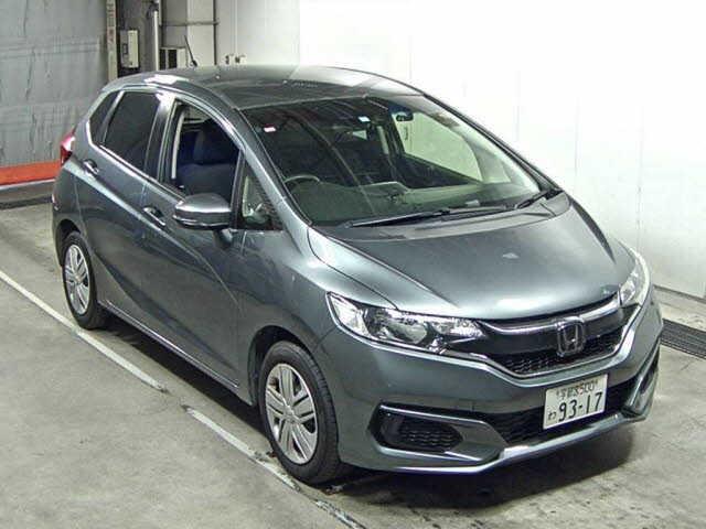 Import and buy HONDA FIT 2017 from Japan to Nairobi, Kenya