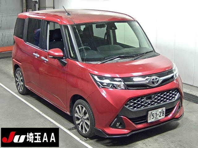 Import and buy TOYOTA TANK 2017 from Japan to Nairobi, Kenya