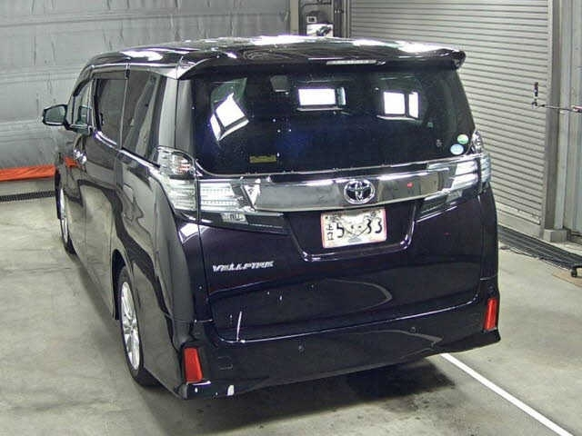 Import and buy TOYOTA VELLFIRE 2015 from Japan to Nairobi, Kenya