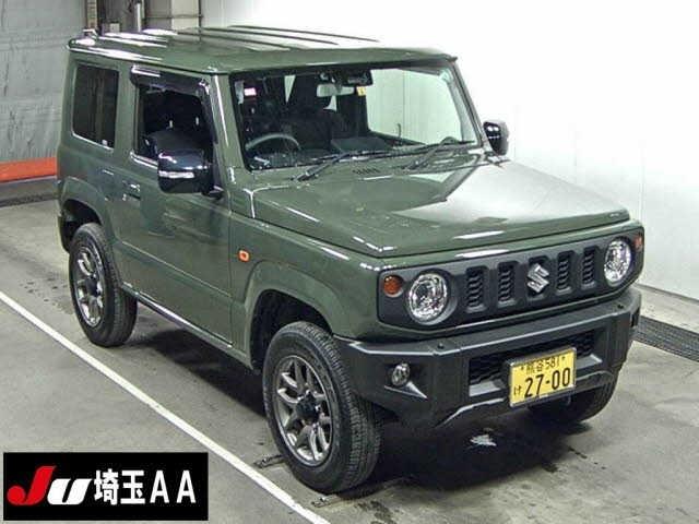 Import and buy SUZUKI JIMNY 2019 from Japan to Nairobi, Kenya