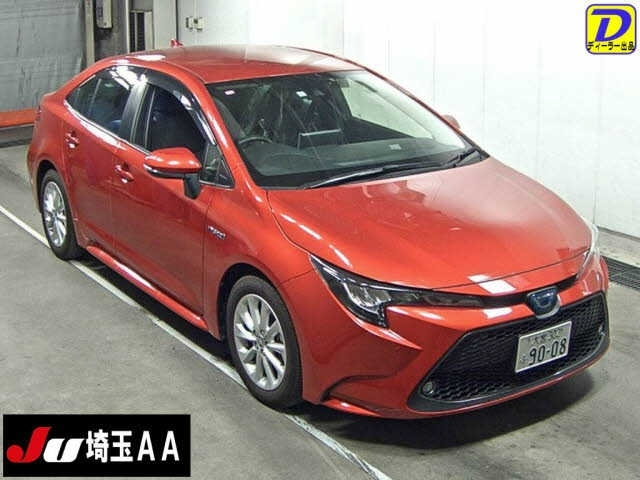 Import and buy TOYOTA COROLLA 2019 from Japan to Nairobi, Kenya