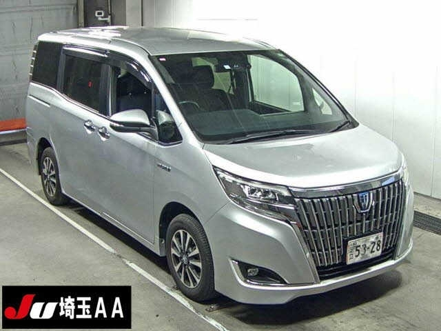 Import and buy TOYOTA ESQUIRE 2018 from Japan to Nairobi, Kenya