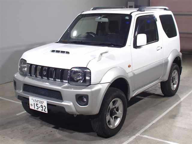 Import and buy SUZUKI JIMNY SIERRA 2015 from Japan to Nairobi, Kenya