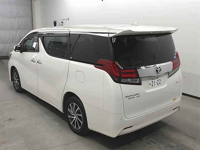 Import and buy TOYOTA ALPHARD 2015 from Japan to Nairobi, Kenya