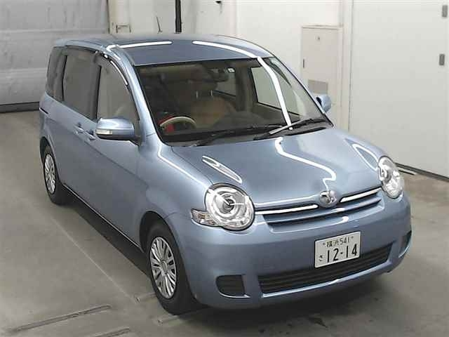 Import and buy TOYOTA SIENTA 2015 from Japan to Nairobi, Kenya