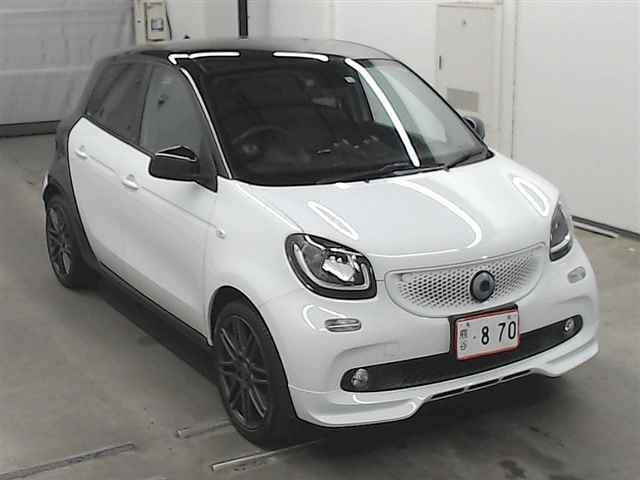 Import and buy SMART FORFOUR 2018 from Japan to Nairobi, Kenya