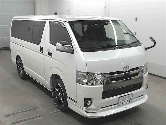 Import and buy TOYOTA HIACE VAN 2019 from Japan to Nairobi, Kenya