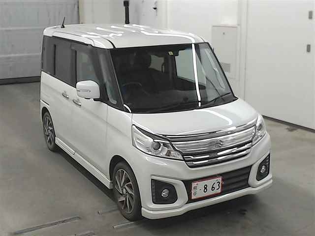 Import and buy SUZUKI SPACIA 2016 from Japan to Nairobi, Kenya