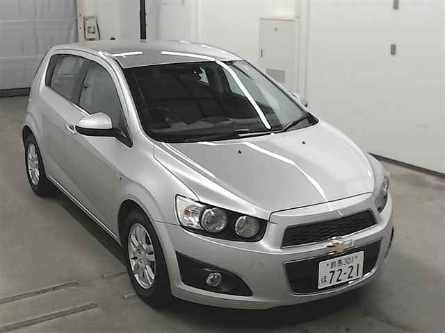 Import and buy GM CHEVROLET SONIC 2013 from Japan to Nairobi, Kenya