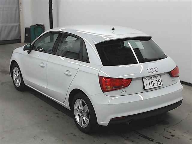Import and buy AUDI A1 2016 from Japan to Nairobi, Kenya
