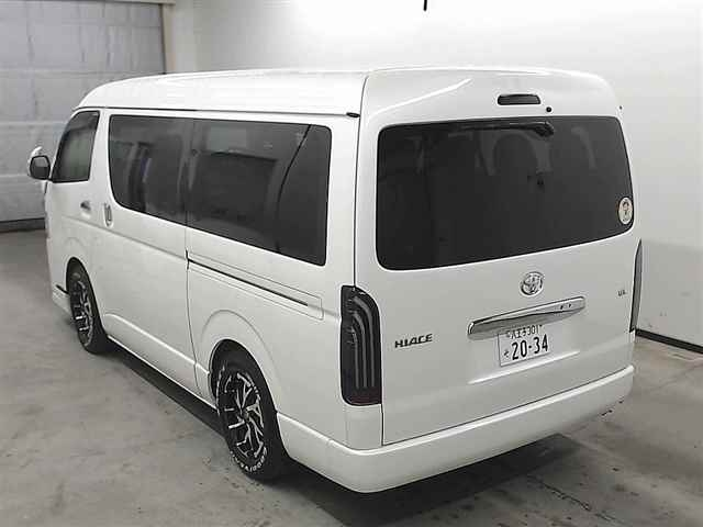 Import and buy TOYOTA HIACE 2016 from Japan to Nairobi, Kenya