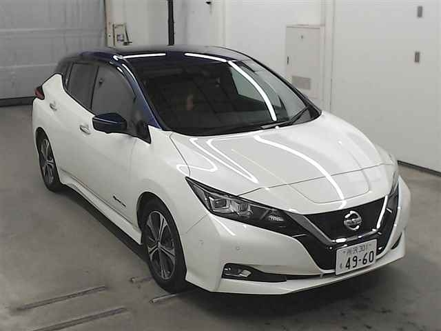 Import and buy NISSAN LEAF 2018 from Japan to Nairobi, Kenya