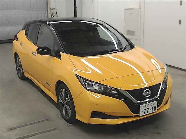 Import and buy NISSAN LEAF 2020 from Japan to Nairobi, Kenya
