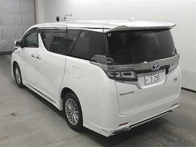 Import and buy TOYOTA VELLFIRE 2019 from Japan to Nairobi, Kenya