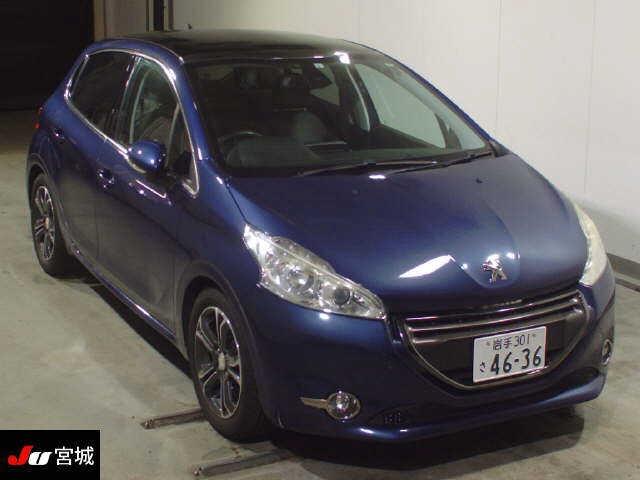 Import and buy PEUGEOT 208 2013 from Japan to Nairobi, Kenya