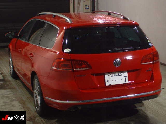 Import and buy VOLKSWAGEN PASSAT VARIANT 2014 from Japan to Nairobi, Kenya