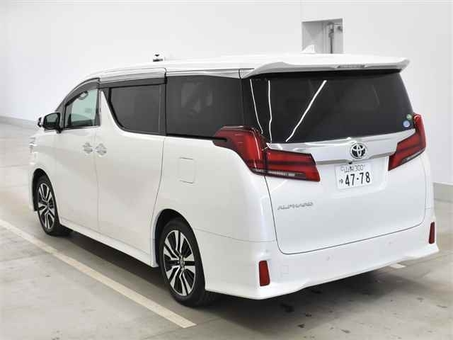 Import and buy TOYOTA ALPHARD 2018 from Japan to Nairobi, Kenya