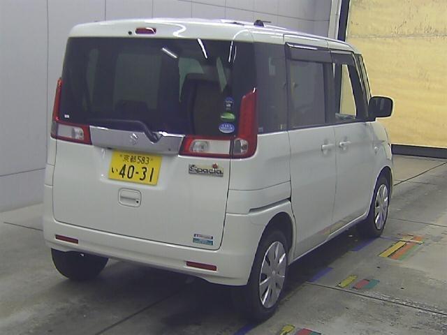 Import and buy SUZUKI SPACIA 2017 from Japan to Nairobi, Kenya