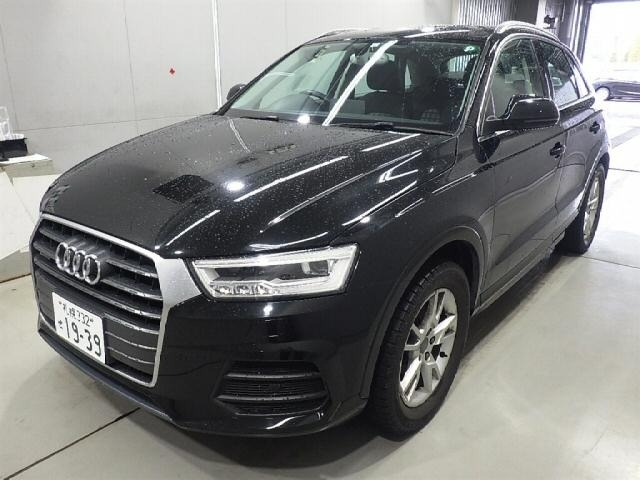 Import and buy AUDI Q3 2015 from Japan to Nairobi, Kenya