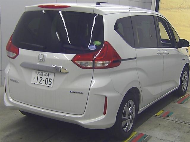 Import and buy HONDA FREED 2021 from Japan to Nairobi, Kenya