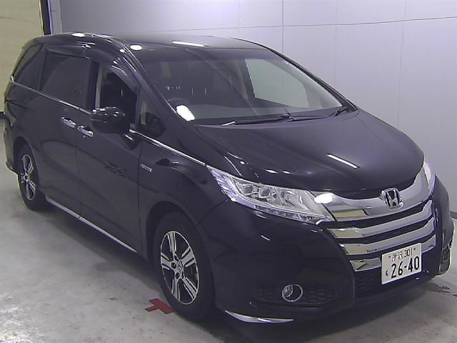 Import and buy HONDA ODYSSEY 2016 from Japan to Nairobi, Kenya