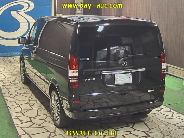 Import and buy MERCEDES BENZ V CLASS 2014 from Japan to Nairobi, Kenya