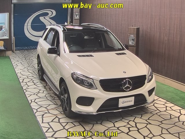 Import and buy MERCEDES BENZ GLE CLASS 2016 from Japan to Nairobi, Kenya