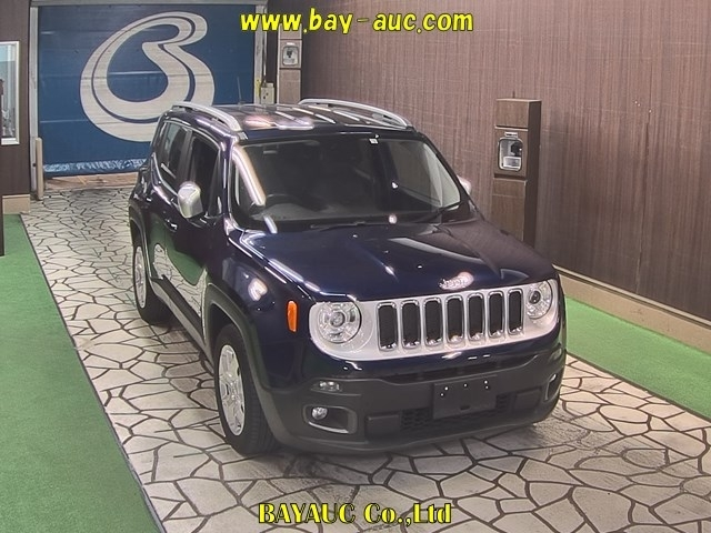 Import and buy CHRYSLER JEEP RENEGADE 2018 from Japan to Nairobi, Kenya
