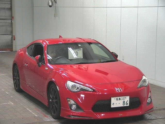 Import and buy TOYOTA 86 2015 from Japan to Nairobi, Kenya