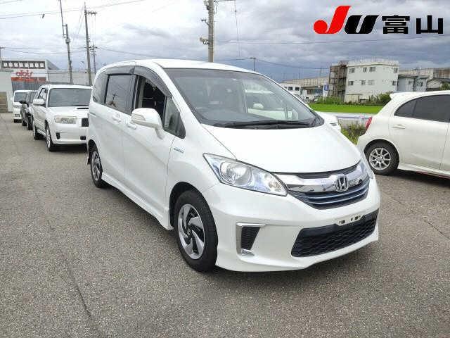 Import and buy HONDA FREED 2014 from Japan to Nairobi, Kenya