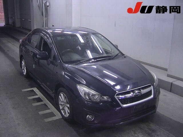 Import and buy SUBARU IMPREZA G4 2014 from Japan to Nairobi, Kenya