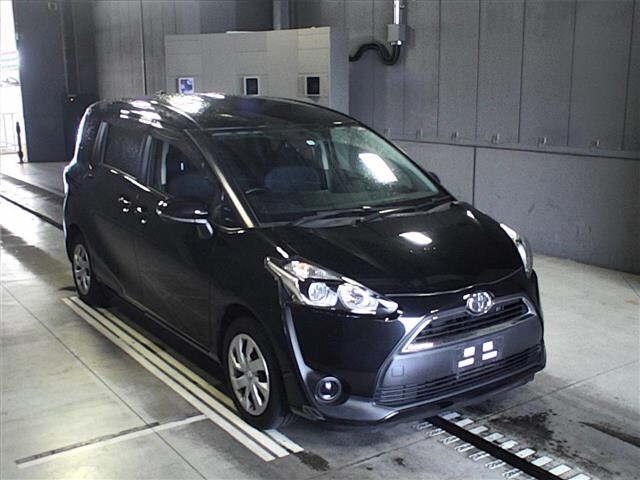 Import and buy TOYOTA SIENTA 2015 from Japan to Nairobi, Kenya