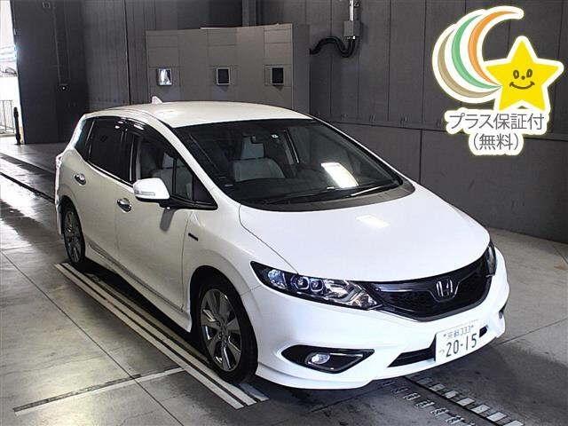 Import and buy HONDA JADE 2015 from Japan to Nairobi, Kenya