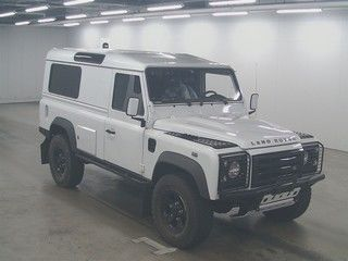 Buy/import LAND ROVER DEFENDER (2012) to Kenya from Japan auction