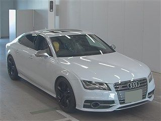 Import and buy AUDI S7 SPORTBACK 2013 from Japan to Nairobi, Kenya