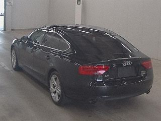 Import and buy AUDI A5 SPORTBACK 2015 from Japan to Nairobi, Kenya