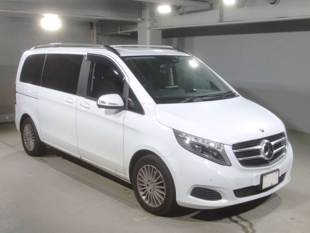 Import and buy MERCEDES BENZ V CLASS 2015 from Japan to Nairobi, Kenya